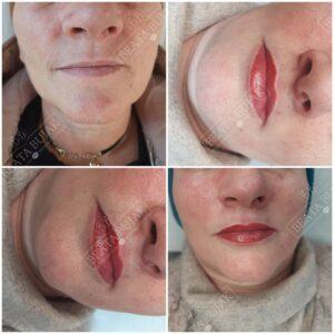 makijaz permanentny ust